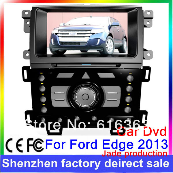 2013 With GPS software accessories dvd automotive car pc for ford edge 2012 2013(China (Mainland))