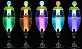 Luminous wine gun wine tower 3l luxury stainless steel draft beer machine beer bucket beer machine wine