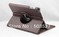 Promotion Magnetic Smart Cover Embossed leather Case for ipad mini For New Ipad mini with 360 Rotating Magnetic Leather Cover