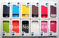 Promotion Dormancy sleep function cover flip leather case battery View housing cover for Samsung Galaxy SIV S4 i9500