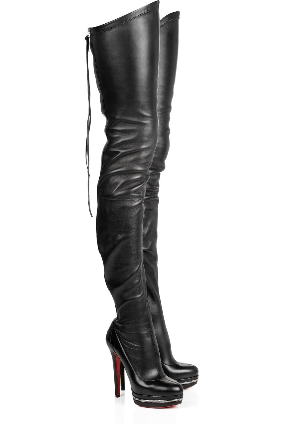 New winter boots knee boots stretch boots high-heeled black boots high boots boots fringed boots(China (Mainland))