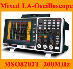 OWON MSO8202T 8 inch MSO Digital Storage Oscilloscope USB +Logic Analyzer 200MHz(China (Mainland))