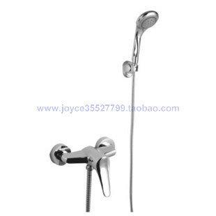 shower faucet+shower head+shower base+plumbing hose