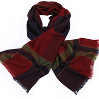 2013 spring cashmere plaid high quality commercial thermal scarf