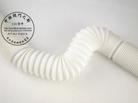 Thickening retractable white washing machine sewer plumbing hose lengthen drainage pipe,2.3m