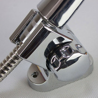 Wholesale ABS with chrome plated rotating adjustable shower holder wall mounted shower base,HR087