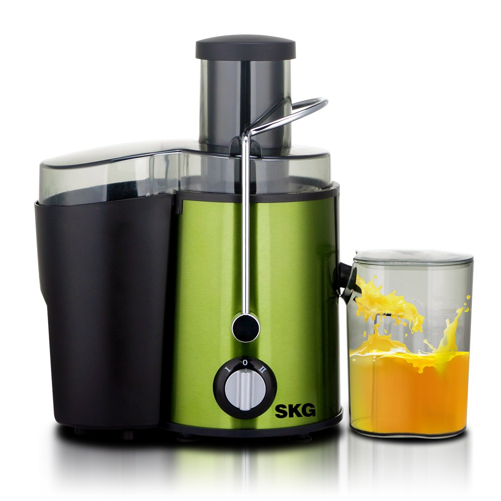 Skg zz1305 mini stainless steel multifunctional juicer electric fruit baby juice machine color coated steel(China (Mainland))