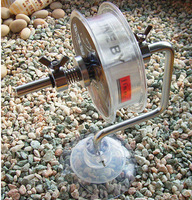 Fishing Line Reel Fishing Line Reel Spool Spooler System Tackle Silver Aluminum Exclusive Design 2013 New