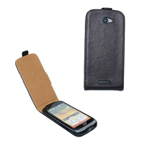 For htc one s holsteins z520e genuine leather mobile phone case protective case brief commercial solid color(China (Mainland))