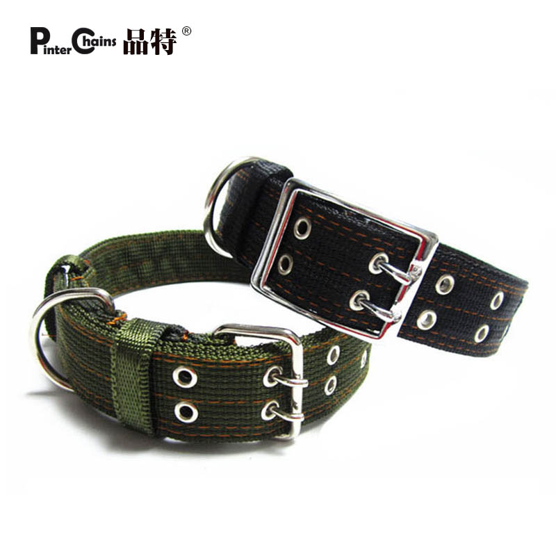 Nylon dog collar dog large dog tibetan mastiff collar pet collar(China (Mainland))