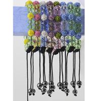Shamballa bracelets fashion disco ball handmade beaded charm bracelet crystal LM _ SL004_5 bracelets for women jewelry f