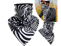 outdoor Sports face mask cs mask riding Bicycle face protect napkin scarf quickdry fabric--Zabra print
