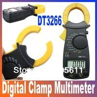 DT3266 Multimeter Digital Clamp Meter Electronic LCD  AMP Tester clip-on table Meter