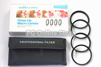GREEN.L 52mm Macro Close up +1+2+4+10 Filter Kit for Digital Camera 52mm lens