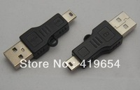 Black Mini USB Cable Data Sync Cable Charger Cable For MP3 MP4 MP5 Player 50pcs/lot Support Dropshipping