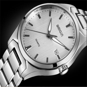 Business casual mens watch dual display fully-automatic mechanical watch steel sheet male table(China (Mainland))