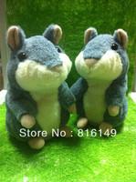 Free Shipping Hot salet Recording Hamster toys Plush Hamster Talking Russian hamster Original Edition