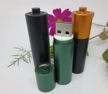 factory  sales battery usb flash disk  Metal usb flash drive