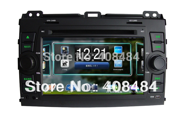 "7""2DIN Car DVD player with Android 2.3.4 system for TOYOTA PRADO/ Land Cruiser,Lexus LX470/GX470 for retail/pcs+free shipping(China (Mainland))"