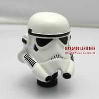 Free Shipping!!soldiers personality white  Gear Shift Knob  universal gear shift knob,Star Wars,K104