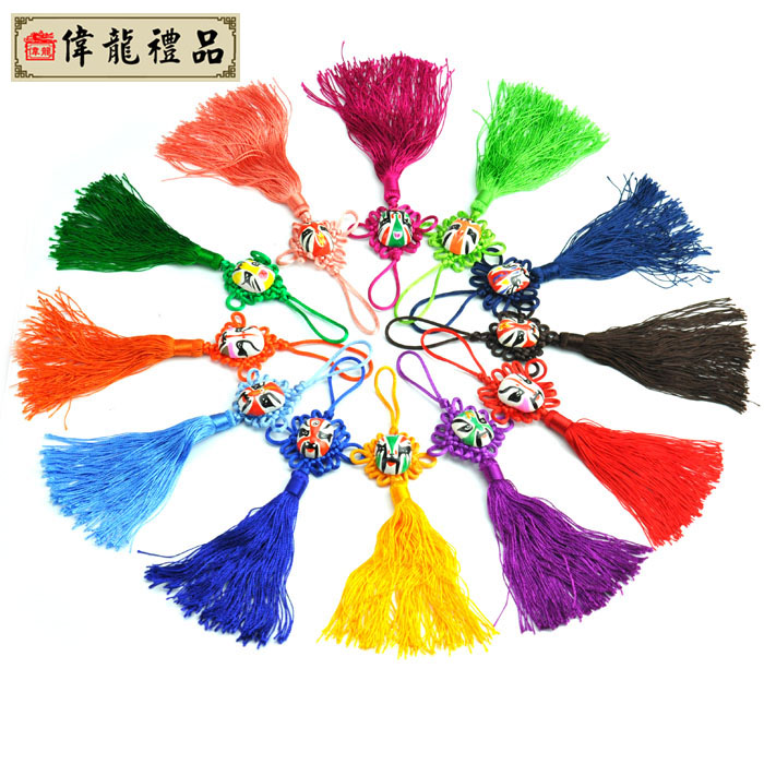 for Beijing opera mask chinese knot chinese style unique small gift 3(China (Mainland))