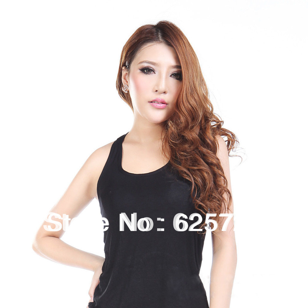2013 new trends of comfort and sexy and waist high stretch vest manufacturers selling RC336 I-shaped wide shoulder vest(China (Mainland))