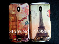 1pcs Eiffel Tower Paris & London Street Hard Back Case Cover For Samsung Galaxy Nexus i9250, Freeshipping