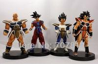 New Dragon Ball Z GT Action figure  Japanese Anime figure Toys 13.5CM PVC 4PCS/SET Free Shipping