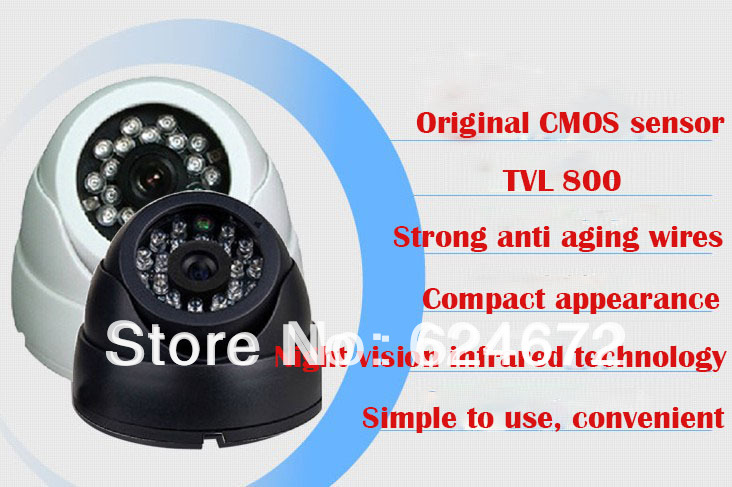 New!800TVL CMOS CCTV Varifocal lens Dome camera 2.8-12mm lens IR Camera,+ Free shipment(China (Mainland))