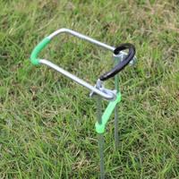 Easy mount fishing tackle rod mount dual small mount belt plastic set