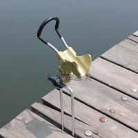 Simple rod mount dual-use full metal adjust mount diaoyu mount