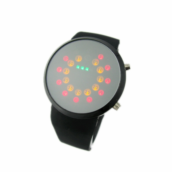 Mirror table lovers table personalized ball male women's led watch(China (Mainland))