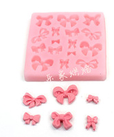 Bake Wholesale / mini bow silicone resin mold, fondant cake tool Fimo clay tools wholesale