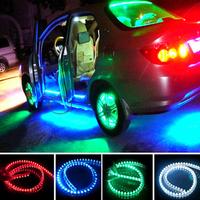2pcs/lot 120cm Modified car lighting car decoration supplies LED light bar Chassis light facial features light free shipping