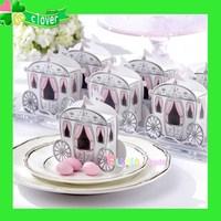 Wholesale Wedding Favor Boxes 200PC/lot Cinderella Enchanted Carriage Wedding Favor Boxes free shipping
