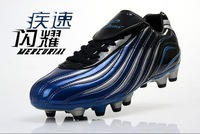 Free Shipping \ Sell like hot cakes Football shoes men hg gel nails football sport shoes ag ball football training shoes
