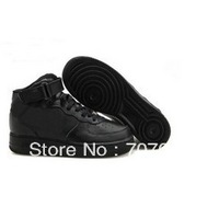 fast shipping Classical Force 1 Low and High famous air one shoes,white and black,Mens and Women Skateboard Shoes