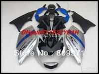 2013 HOT!!! Blue black silver Fairing Kit For K1200S 05-08 K 1200S 2005-2008 K1200 S 05 06 07 08 2005 2008