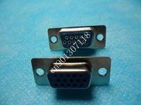 15 Pin D-Sub VGA DB15 HD Female Solder Cup Connector 50pcs