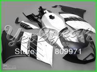 B182 White Black Fairing Kit For K1200S 05-08 K 1200S 2005-2008 K1200 S 05 06 07 08 2005 2008