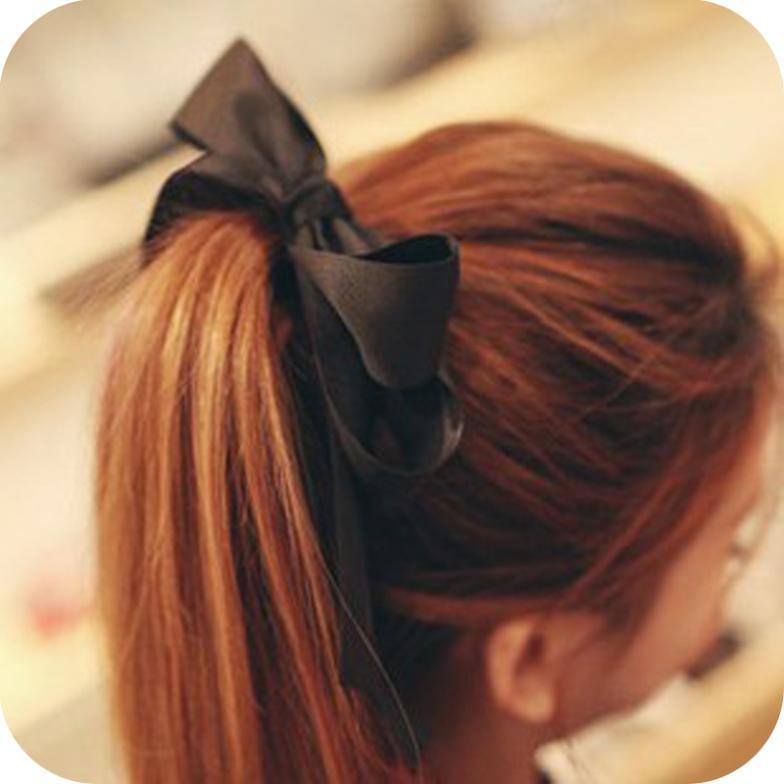 Free shipping (Min order $10) ribbon layers of cloth art big bowknot hair bands headdress flower B0048(China (Mainland))