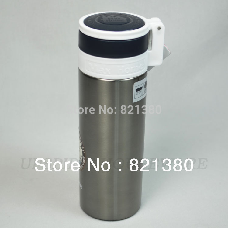 Hot sale max home 330ml stainless steel the vacuum flask cup water bottle mug travel flask hot and cold insulation(China (Mainland))