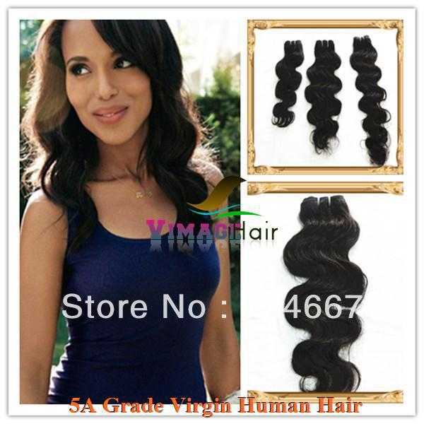 hair extensions manufacturing 28 inch AAAAA grade tangles free no shedding body wave indian virgin hair(China (Mainland))