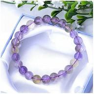 Free shipping fashion girl 7-8MM natural purple Topaz Bracelet hot sale