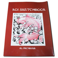 HOT SALE NEW KOI SKETCHBOOK FLASH MAGAZINE ART BOOK TATTOO SUPPLY A4 Size ML009