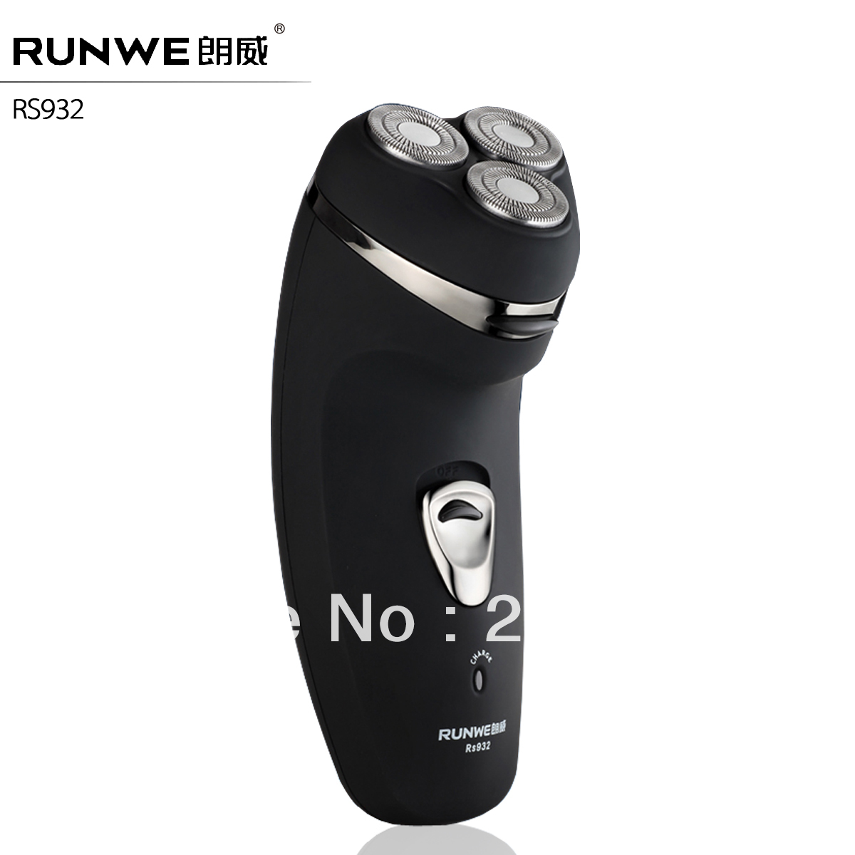 Runwe top quality rotary shaver electric shaver razor Father's Day gift fast delivery for men free shipping(China (Mainland))