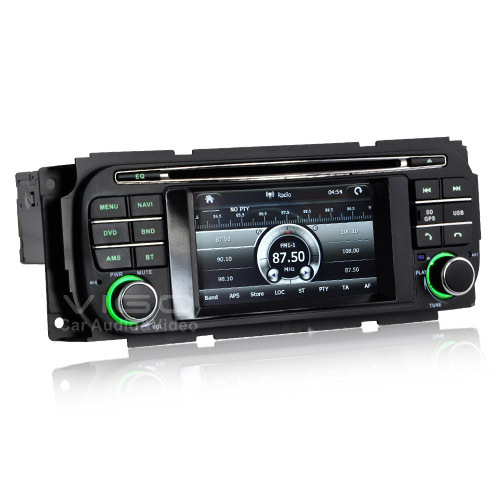 Car stereo GPS Navigation for Dodge Neon Chrysler town&country Jeep grand cherokee with Auto radio DVD Sat navi(Hong Kong)