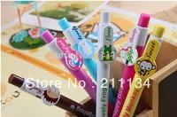 Free Shipping ! Wholesale  Pen , 42PCS/Lot , Korean Stationary Animals Pure Color Ballpoint Pen / Plastic Ball Pen / Ball Pen