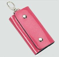 Free shipping Wholesale car Key ring Wallets Bag Men Women key chain house keys holder Leather 5 color