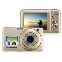 15MP Max. CMOS Sensor 20x Zoom 2.7″ TFT LCD Digital Camera TS-600